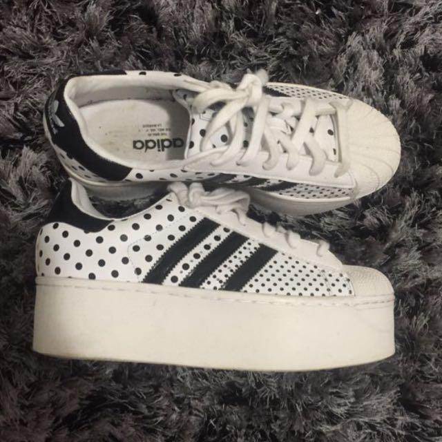 Adidas Superstar Platforms