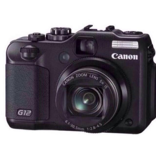 Canon PowerShot G12 相機 類單 單眼 數位相機 拍立得《朋友寄賣》