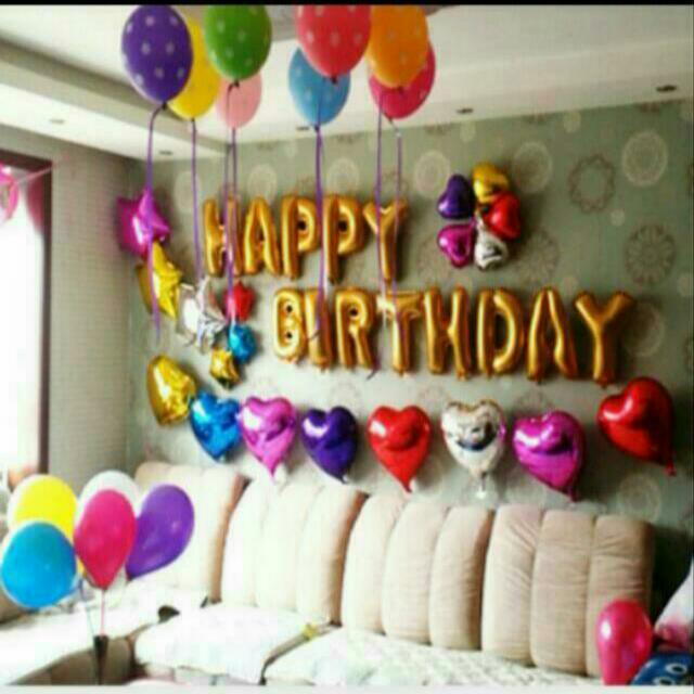 Goil Foil Alphabet Balloons For Wedding Proposal Rom Birthday
