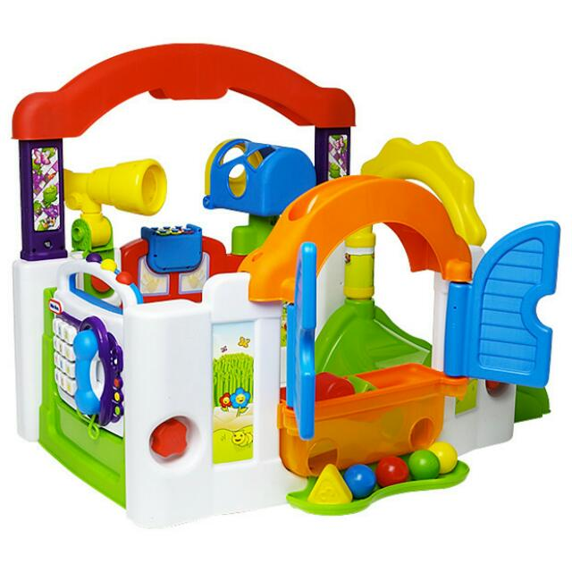 Reserved Little Tikes Activity Garden House Gym Babies Kids On Carousell