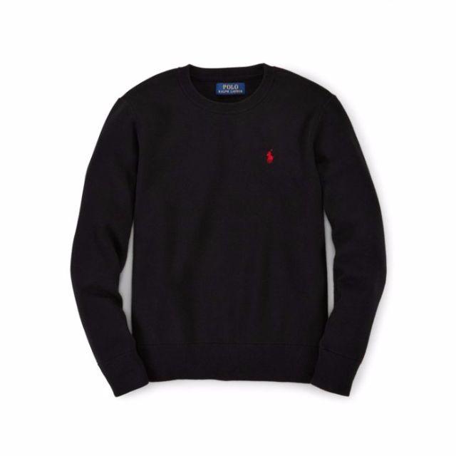 【Moose】A&F HCO RL ELBOW PATCH 針織毛衣 LOGO 黑 情侶款 實穿 全新正品 現貨
