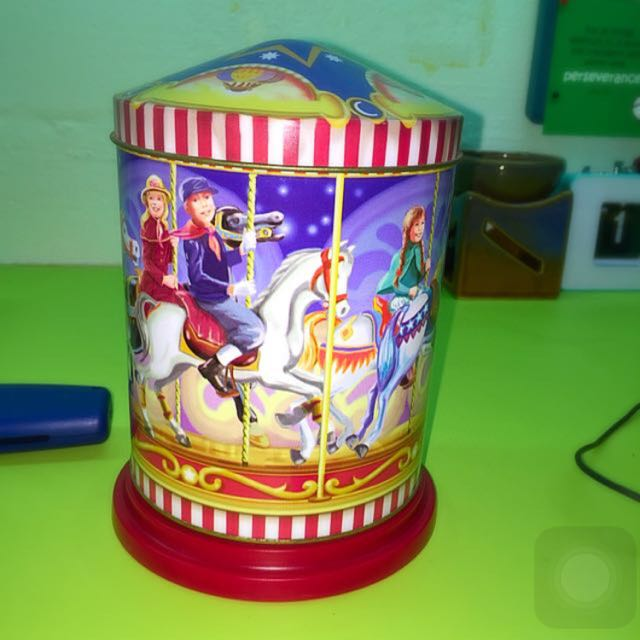 Musical Tin Box