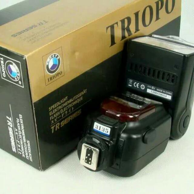 Nikon SPEEDLIGHT  TTL SYSTEM Triopo TR586EX