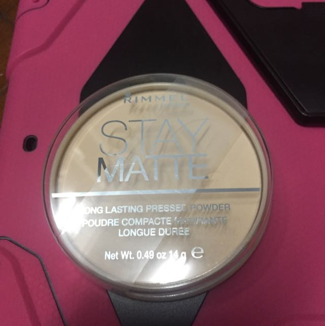 Rimmel Stay Matte In 001 Transparent
