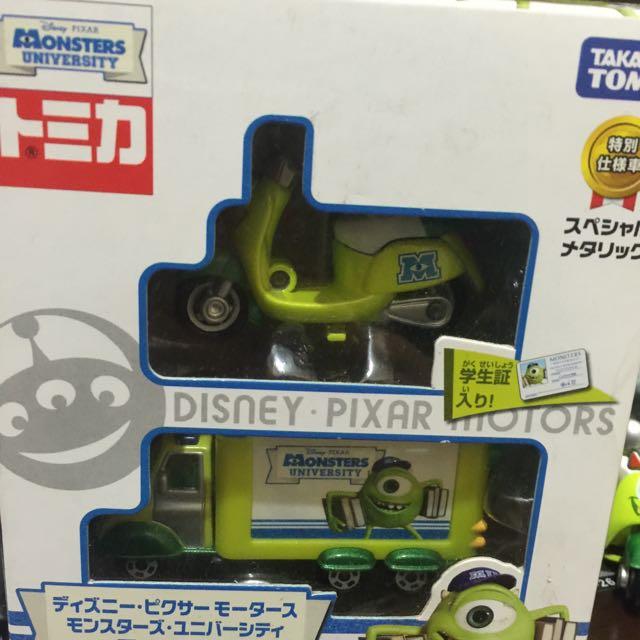 怪獸電力公司Tomica多美小汽車含運