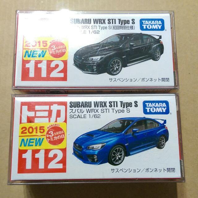 Tomica Subaru No.112 初回