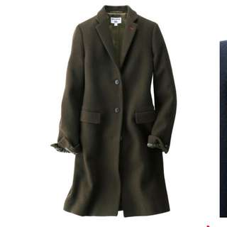 Uniqlo 依內絲 法桑琪聯名系列 徹斯特大衣
