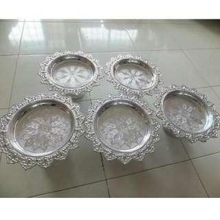 *Reserved* Silver Tray For Gubahan/Hantaran