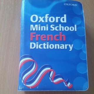 Oxford Mini French Dictionary