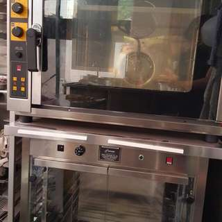 Commercial Oven With Proofer