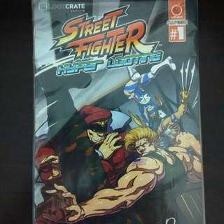 Street Fighter Hyper Looting Issue 1 From Lootcrate