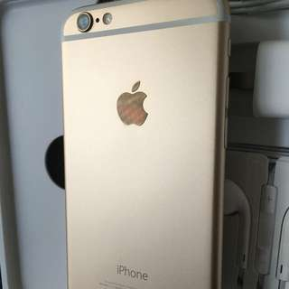 Iphone6 16g 金色