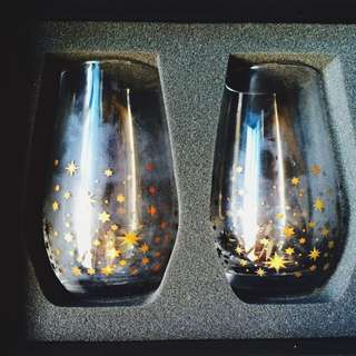 Couple Star Glass