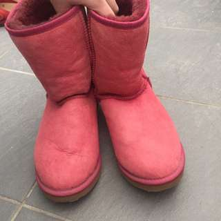 Pink UGG Boots For Sale