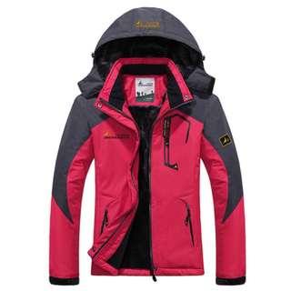 冬季保暖防風外套 - 女款