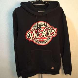 免運正版Dickies 美式logo 帽T 女M號