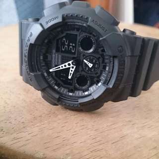 G-shock MENS GA 100-1A1 BLACK