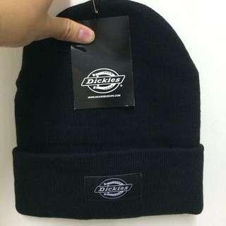 Dickies Yonkers Beanie Black 黑色 黑標 Logo 透氣 保暖 毛帽 針織毛帽 現貨
