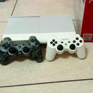 PS3 4207c 500G主機+15片遊戲