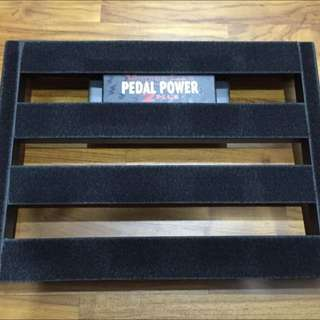 Pedaltrain Junior Softcase and Voodoo Labs Pedal Power 2 Plus