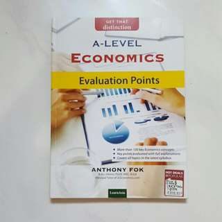 A Level Econs Evaluation Book