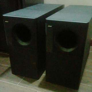 2 Bose Acoustimass 20 Subwoofers