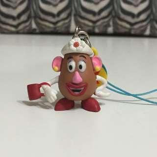 (待匯) 蛋頭太太 玩具總動員 吊飾 公仔 扭蛋