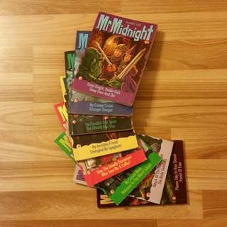 Mr Midnight (8 Books Sold Together)
