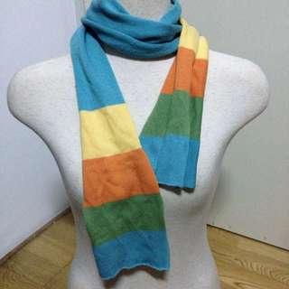 特殊三色圍巾