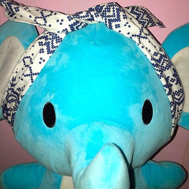 🔴復古可愛深藍髮帶