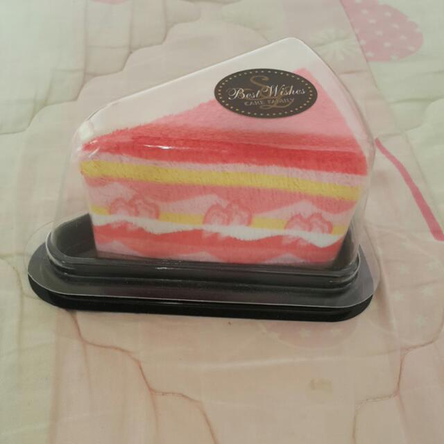 蛋糕造型毛巾