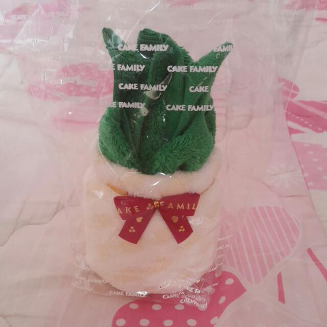 鳳梨造型毛巾