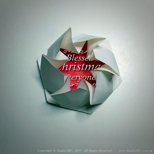 Handcrafted Origami Hexagonal Tato (Purse)