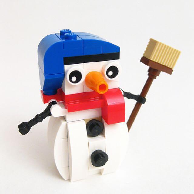 Lego 袋裝小雪人