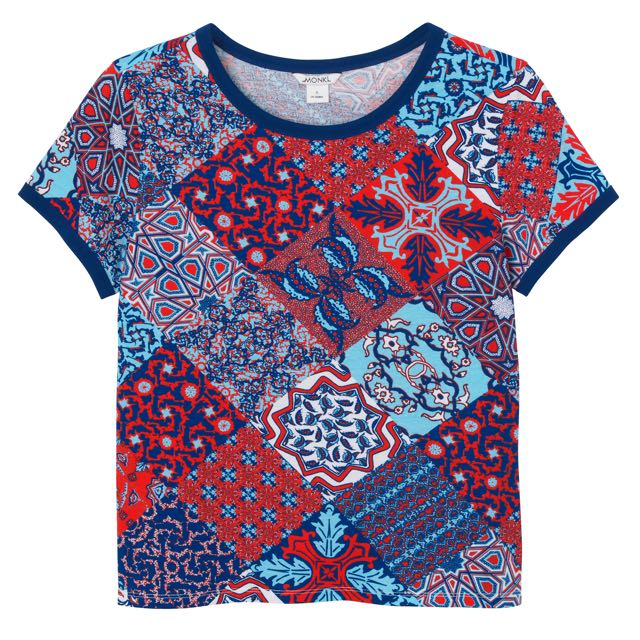 MONKI Printed T shirt