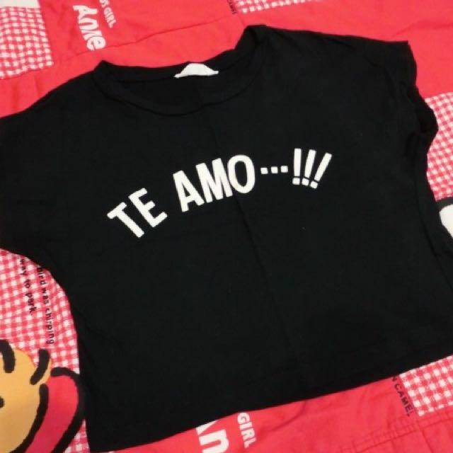 Net 短版t-shirt