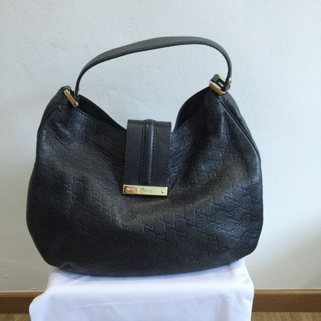 993cb2117e84c2 Pre-Loved Authentic Gucci Guccissima New Ladies Web Hobo Bag, Luxury ...