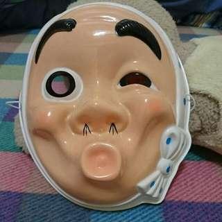 日本人物面具