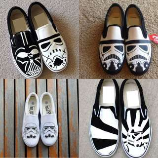 Star Wars    Hand Painted Shoes