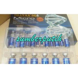 Glutax 5Gs Micro Advance Whitening Injection