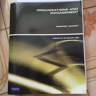 BN Organisations And Management Textbook