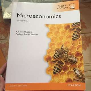 Microeconomics Fifth Edition By Pearson