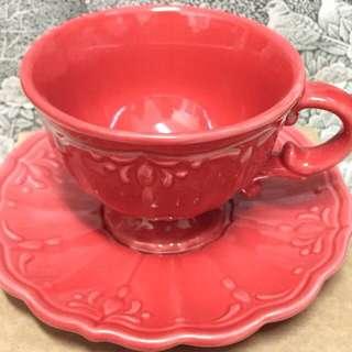 [全新]蕾莉歐 歐風 陶瓷 咖啡杯盤組|馬克杯