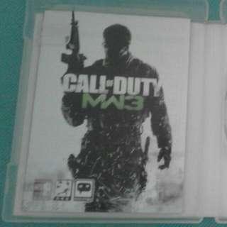PS3 Call Of Duty : Modern Warfare 3