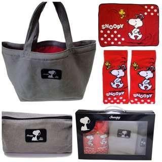 日本代購史努比2016年福袋  有四件組