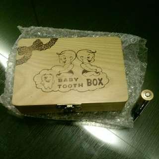 高級乳牙保存盒