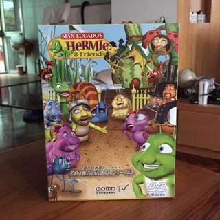 DVD全新5折 兒童教材 小毛毛蟲成長日記