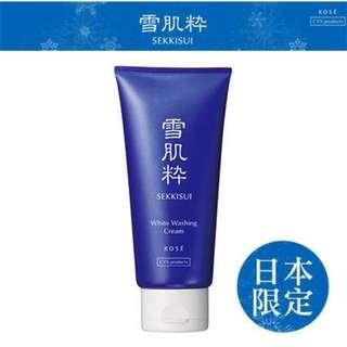 雪肌粹洗面乳80g(日本7-11限定)