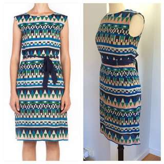 "Gorman ""Off The grid"" Silk Dress. Fits 8-10"