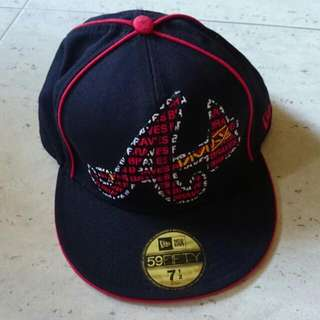 New Era 59FIFTY Fitted Braves Cap